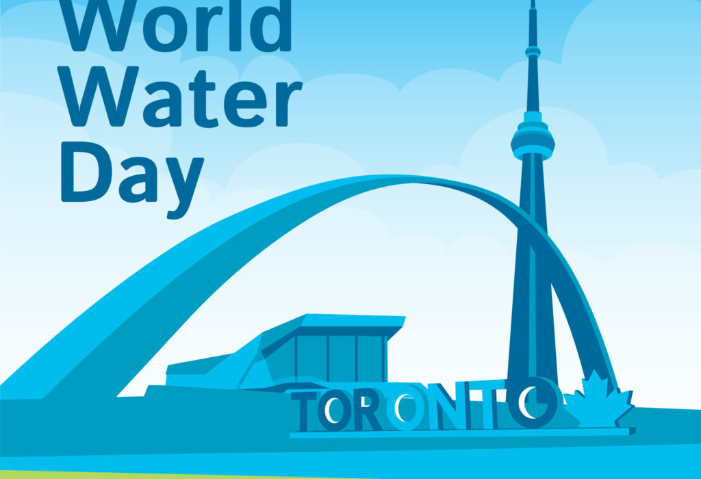 Going Blue For World Water Day