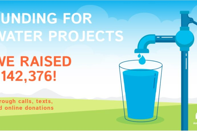 What you made possible on World Water Day